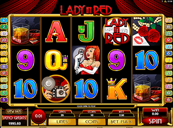 Игровой автомат Lady In Red 2