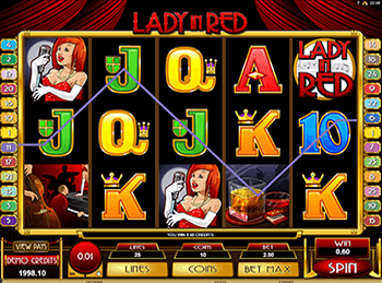 Игровой автомат Lady In Red 3