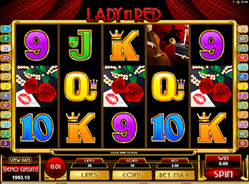 Игровой автомат Lady In Red 1