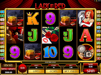 Игровой автомат Lady In Red 4